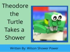 Theodore the Turtle Takes a Shower by Wilson Shower Power