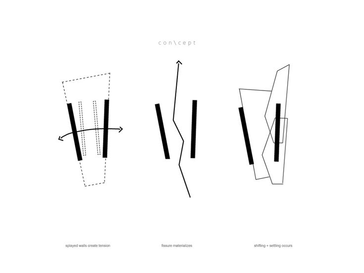 gallery of fractured house    studio h t     diagrams