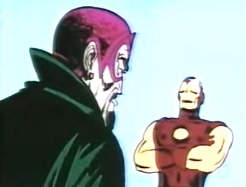 Iron Man vs El Mandarin