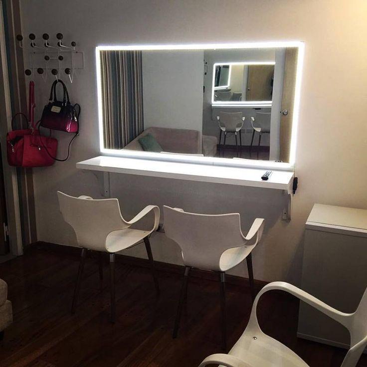 1000 ideas sobre espejo de maquillaje en pinterest for Espejos con iluminacion