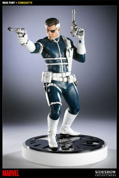 Sideshow Collectibles - Nick Fury Polystone Statue