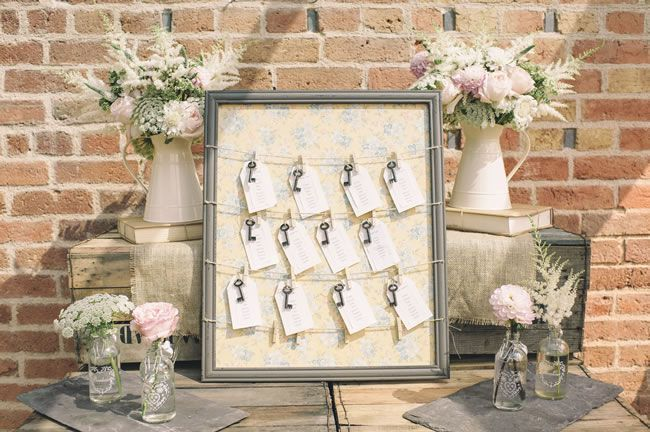 Table plans to suit your wedding theme. Image © Daffodil Waves Photography