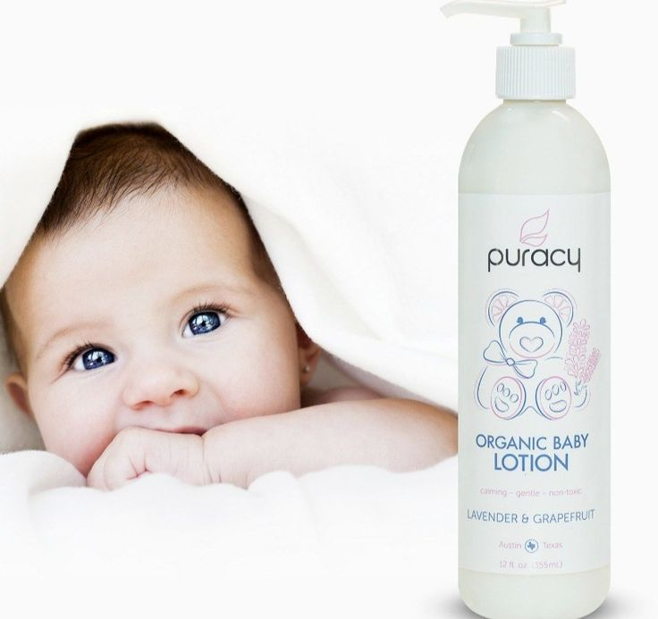 Best Natural Baby Lotion, Puracy Baby