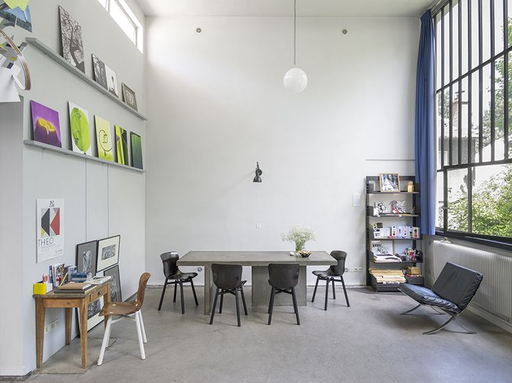 Functionals Wendela chairs at the van Doesburghuis in Meudon, Paris. Design: Serener.