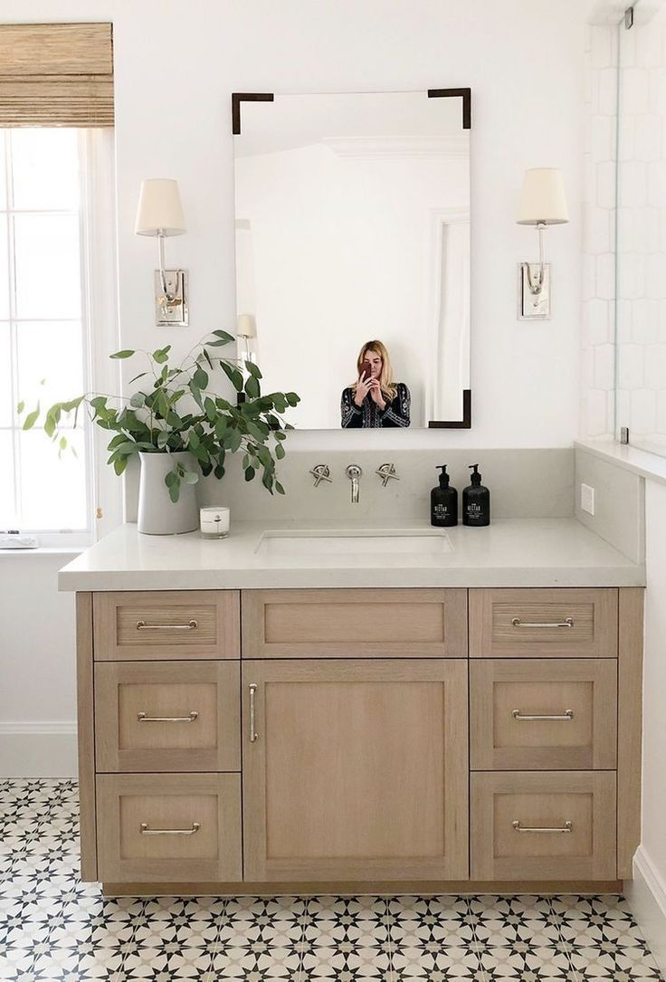 Get The Bathroom You Desired With The Best Vanities And Vanity Tops Badezimmer Natur Haus Interieurs Bad Styling