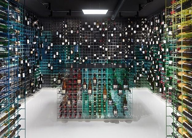 Weinhandlung Kreis shop in central Stuttgart, Germany | 33 Examples Of Wine Storage Done Right