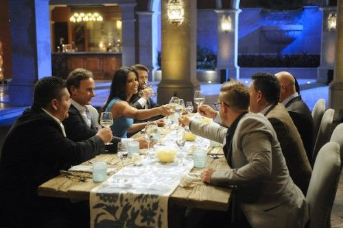 I NEED this table runner from Top Chef's episode in Mexico this week. Would go perfect with my planned white/grey/wood scheme in the new DR!