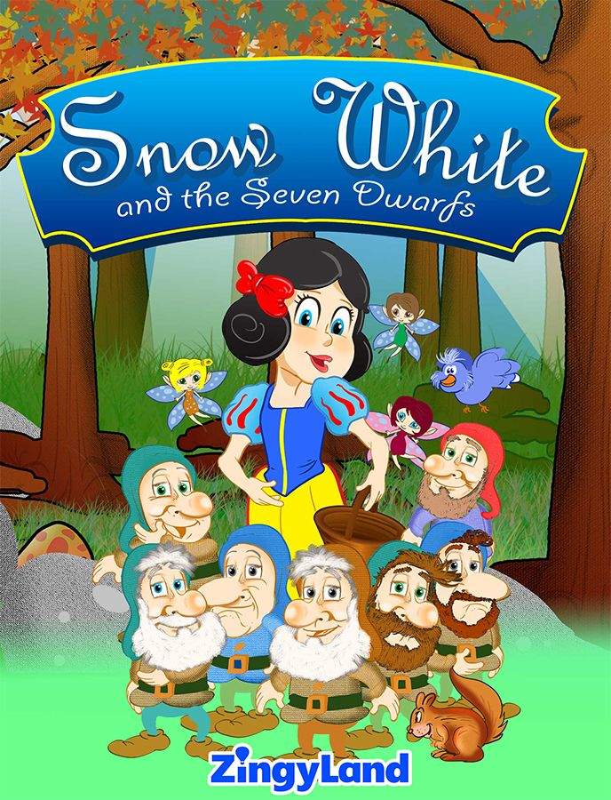 Snow White is in danger. What will the dwarfs do to help her? Find the story in ZingyLand!