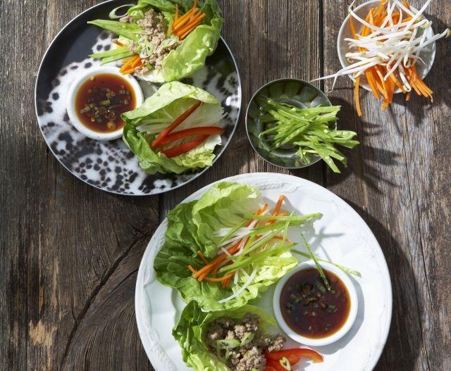 Salátawrap: egy szuperkönnyű szendvicsrecept