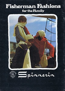 VINTAGE 70s KNITTING PATTERNS FISHERMAN SWEATER SLIP-ON HATS GIRL BOYS MEN WOMEN | eBay