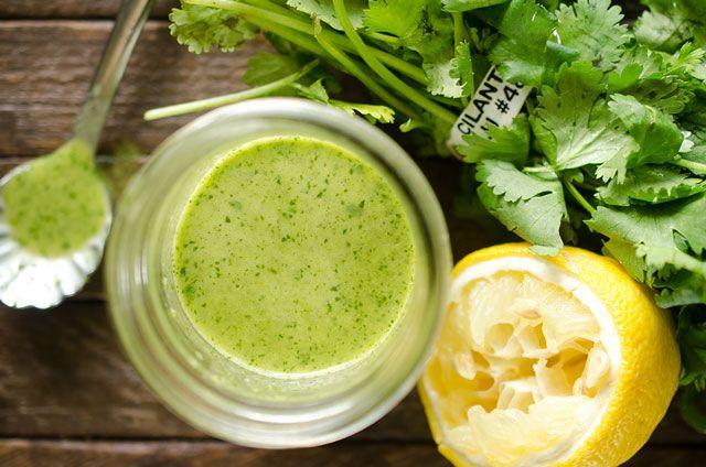 Vinagreta de limón cilantro