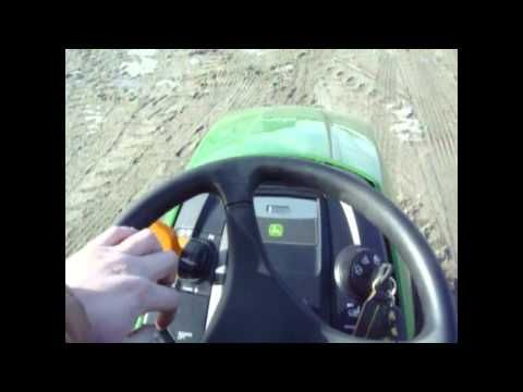 how to drive a john deere tractor