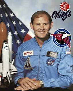 """From NASL to NASA: Manley Lanier """"Sonny"""" Carter, Jr. (8/15/47 - 4/5/91) was an American physician, pro soccer player, Naval officer, and NASA astronaut who flew on STS-33. He was scheduled to fly on STS-42 at the time of his death in the crash of Atlantic Southeast Airlines Flight 2311 in Brunswick, Georgia while on a commercial airplane traveling for NASA.  In 1970, Carter signed with the NSAL's Atlanta Chiefs, for whom he played three seasons."""