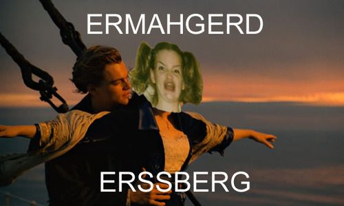 Erssberg!!! Made me laugh so hard!
