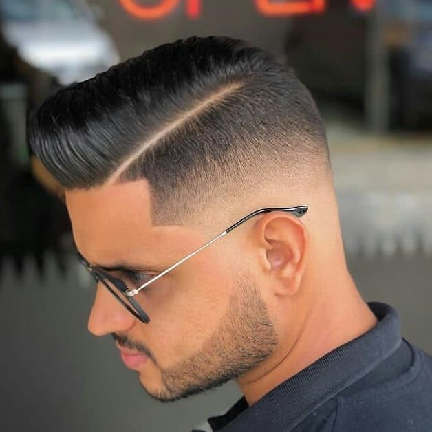 Latino Mens Haircuts Stylish Mens Haircuts Hard Part