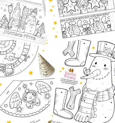 Free fun Christmas colouring pages for kids // Karácsonyi és téli témájú színezők gyerekeknek // Mindy - craft tutorial collection // #wintercrafts #winterdecors #wintercrafttutorials #diy #DIY #wintercraftideas #diywinterdecors