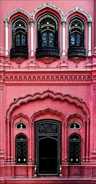 Architecture & Color #Architecture #India #IndianArchitecture #Pataks #PataksCanada #MixinaLittleIndia #Indian
