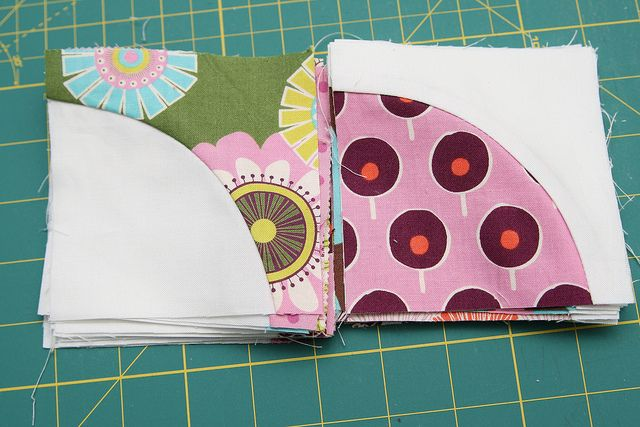 How to sew curved blocks (and lots of ways to arrange them too).