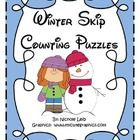 Skip Counting Puzzles for Winter!Count by 2'sCount by 5's3 different designs for each.Perfect for math centers or guided math....