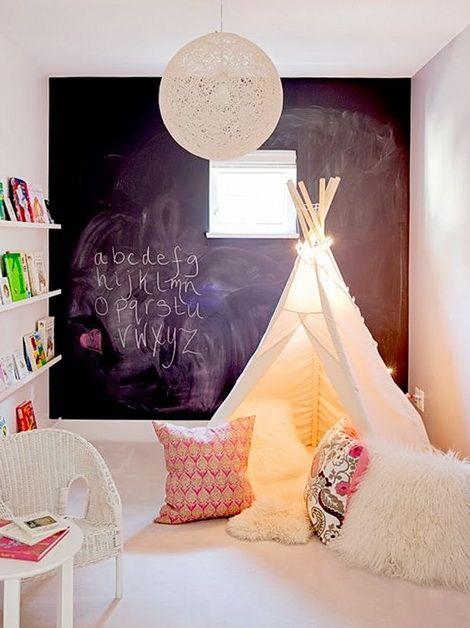 Домик в детскую комнату своими руками - мастер-класс: индейская хижина типи | Дуэт душ