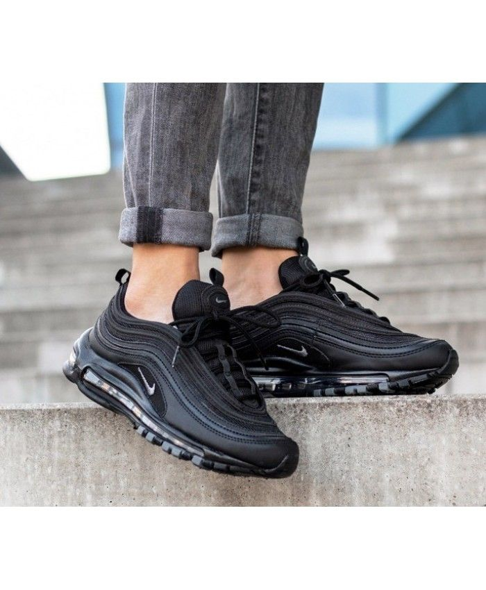 new styles 98d42 49a37 Nike Air Max 97 Black Grey Trainers Sale UK