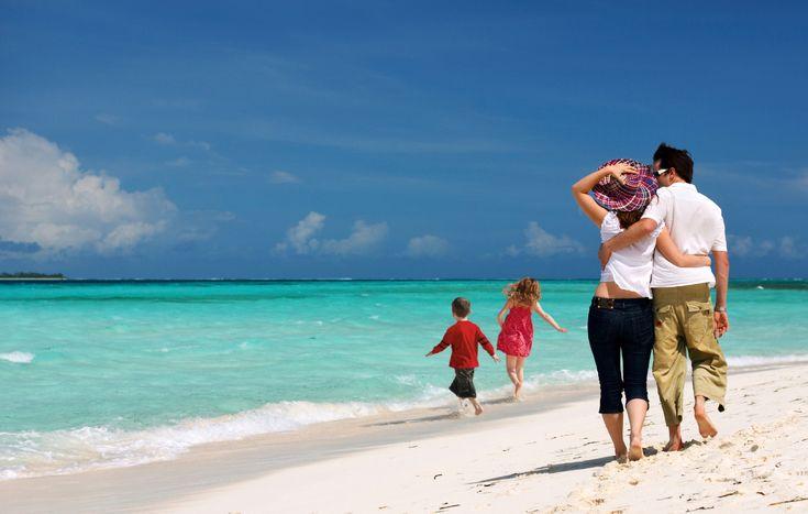 San Andrés, Colombia con tu familia, un sueño :D family at the beach :D