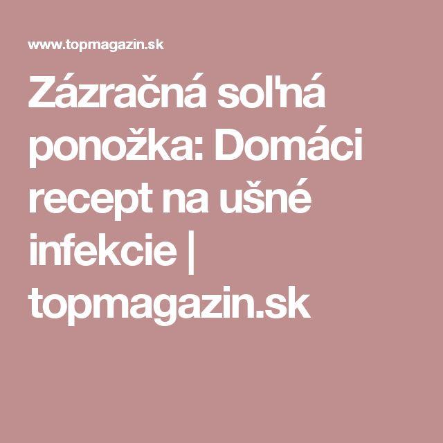 Zázračná soľná ponožka: Domáci recept na ušné infekcie | topmagazin.sk