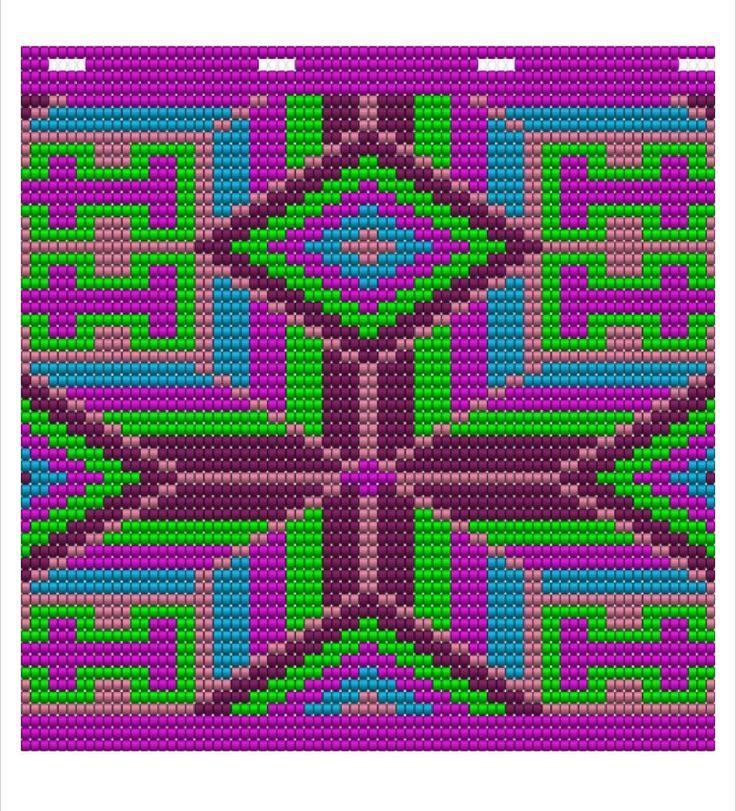 Wayuu, tapestry crochet pattern   Craftsy