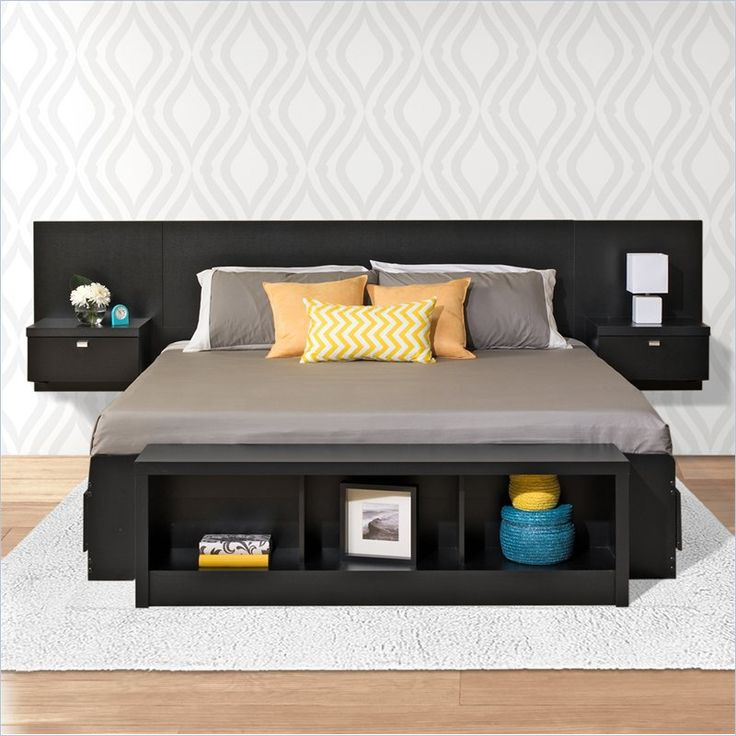 best 25 floating headboard ideas on pinterest head boards diy floating nightstand and. Black Bedroom Furniture Sets. Home Design Ideas