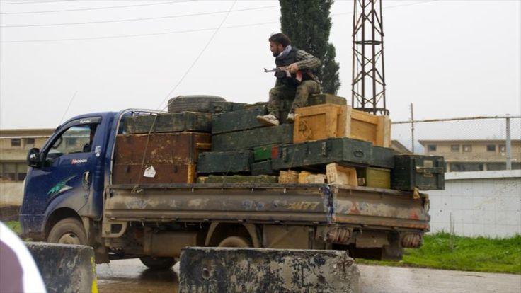 Vídeo: Daesh lucha en Siria con armas de Turquía y de OTAN