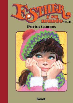 """""""Esther y su mundo"""", volumen 14, de Purita Campos. Editado por Glénat."""