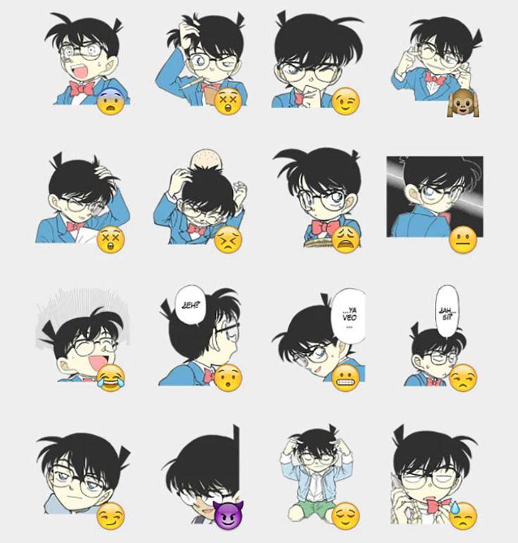Detective Conan Stickers Set | Telegram Stickers