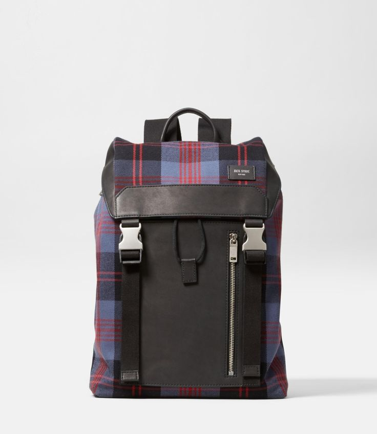 Cocharron Plaid Army Backpack | JACK SPADE(ジャック・スペード)