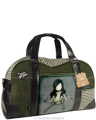 Gorjuss Wool Weekender Bag - On Top Of The World