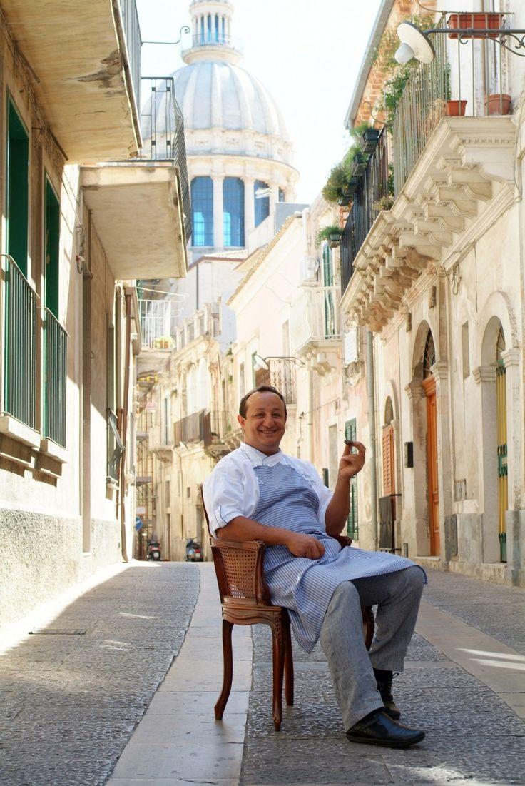 Ciccio Sultano. Ristorante Duomo. Via Capitano Bocchieri, 31. Ragusa Ibla. Tel. +39 0932 651265