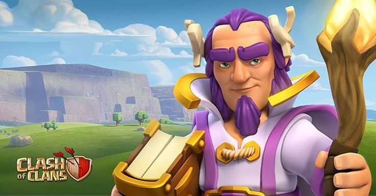 Clashers, meet the new Hero: the Grand Warden! ⭐️⭐️⭐️