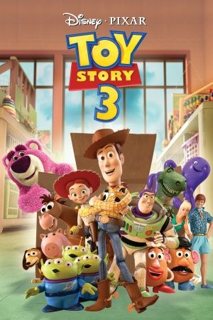 Toy Story 3 movie dvd cover