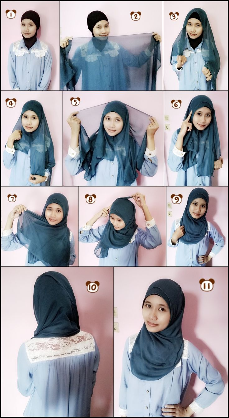 1000 Images About Hijab Tutorial On Pinterest