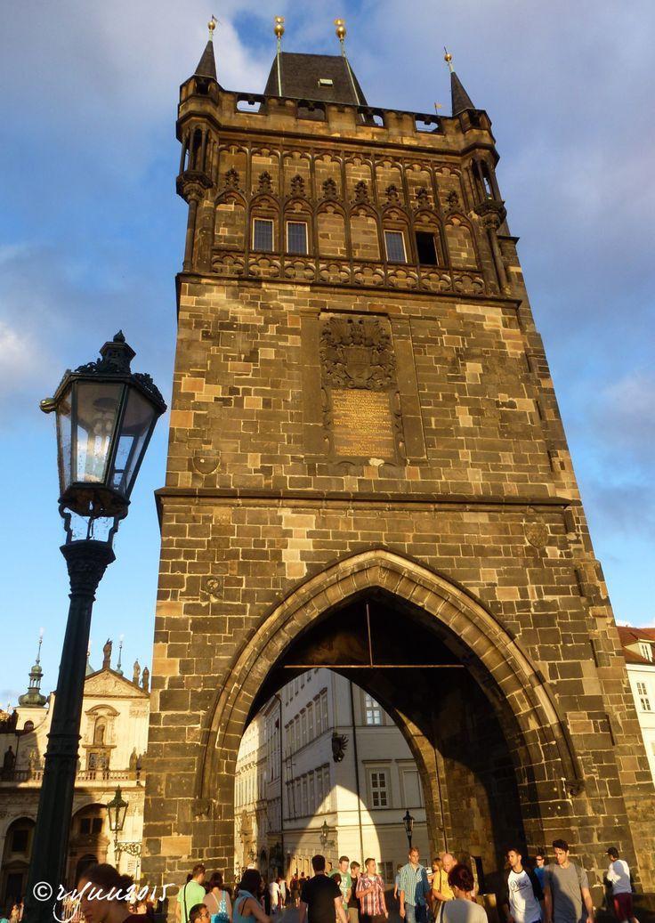 mostecká věž