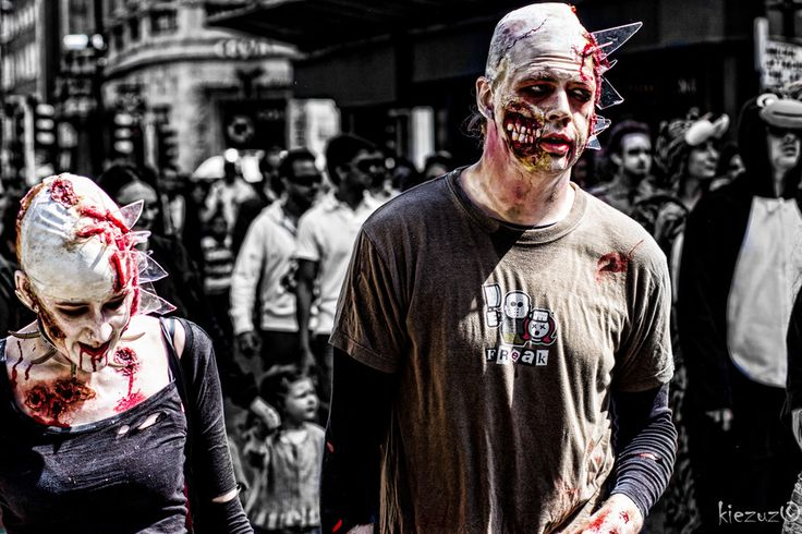 Zombie Walk @ Dublin