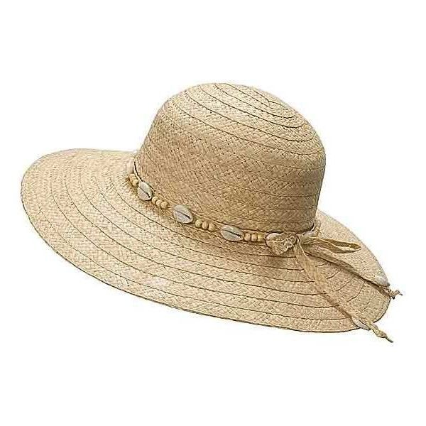 Panama Jack Floppy Straw Hat (For Women) (61 DKK) ❤ liked on Polyvore featuring accessories, hats, straw hat, floppy straw hat, flop hat, floppy hats and panama jack hat #HatsForWomenFloppy