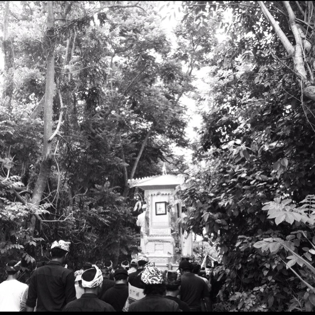 """""""entering the cemetery - the cremation series""""   Bali, Indonesia"""