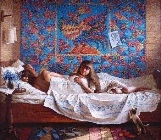 Белковский Игорь «Семья. Раннее утро»