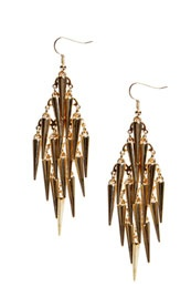 Jenna Spike Chandelier Earrings