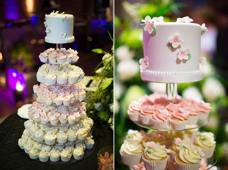 St. Andrew's College wedding reception cupcakes