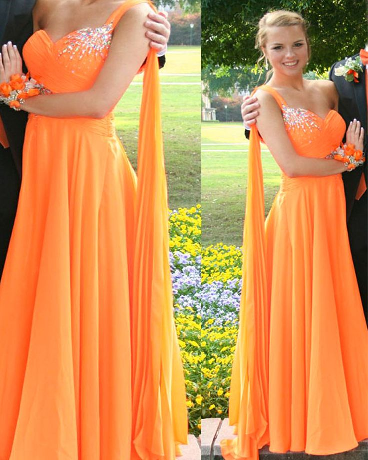 17 best ideas about orange prom dresses on pinterest