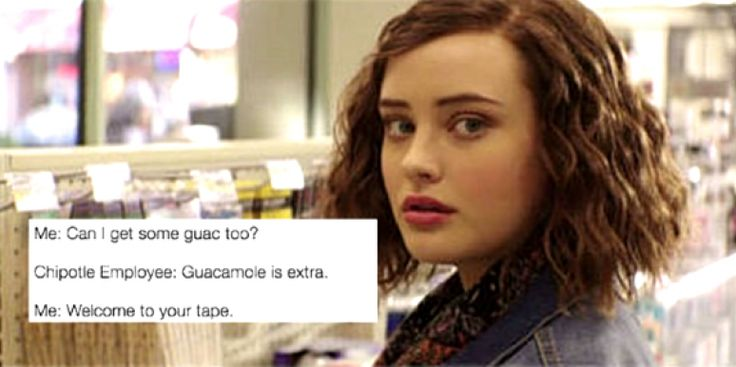 """13 Reasons Why Meme - Hannah Baker """"Welcome to your Tape"""""""