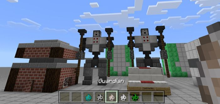 Spawning self-building structures is never easier than ever before thanks to a variety of spawn eggs. You can find out a mini-base and a guardian statue in some of structures. With this map, you could know about the power of created command blocks. One of the best features about this map is the... http://mcpebox.com/self-building-egg-structures-redstone-map-minecraft-pe/