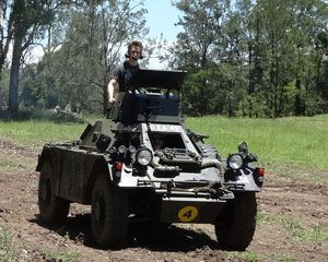 Tank Rides, Ride in the Gun Turret of an Armoured Car - Brisbane. For Great Discounts Visit Adrenaline.com.au or Call 1300 791 793 Now!