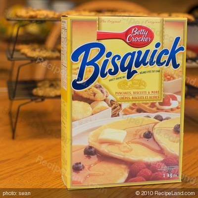 Original Bisquick Dumplings: make with cooked chicken, shredded carrots, in 6 cups of chicken broth